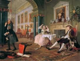 Marriage a la mode, The Tete a Tete, 1743