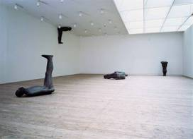 Antony Gormley, Testing a World View, 1993
