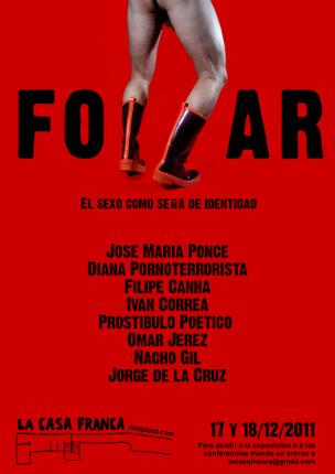 Cartel expo FOLLAR. LaCasaFranca