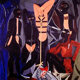 Rafael Agredano, La Chambre en Noir, 1995-96