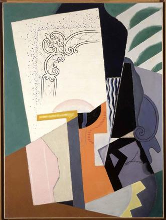 María Blanchard, Composición cubista, 1916
