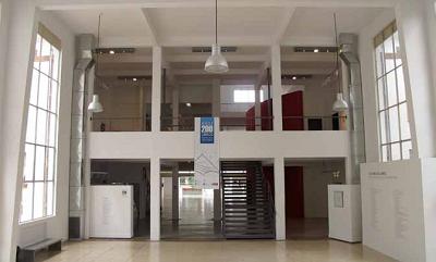 Hall de ingreso principal del CCMHC