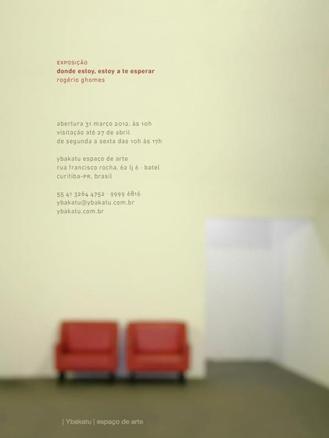 Rogério Ghomes, Donde estoy, estoy a te esperar