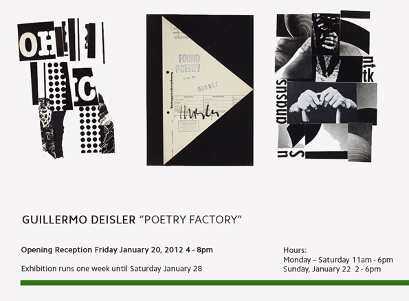 Poetry factory