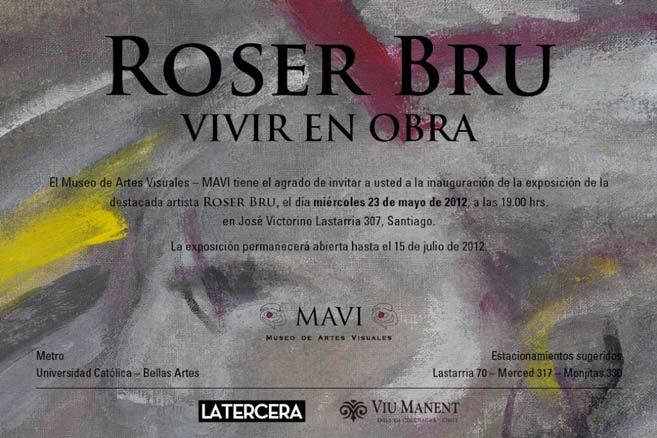 Roser Bru, Vivir en obra