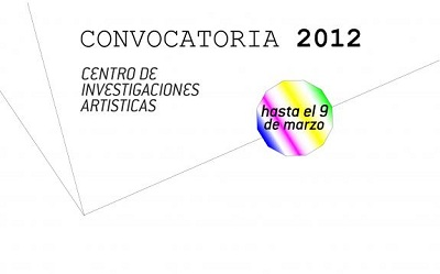Cartel de la Convocatoria Cia 2012