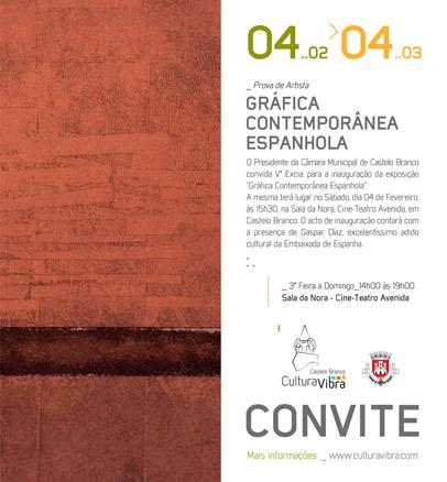 Gráfica Contemporânea Espanhola
