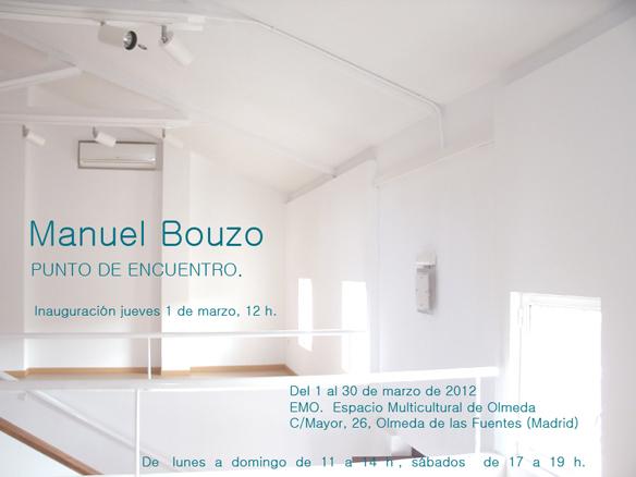 Cartel de la exposición inaugural