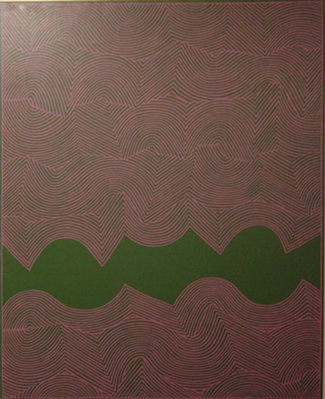 Alfredo Alcaín, Malve y verde, 2004
