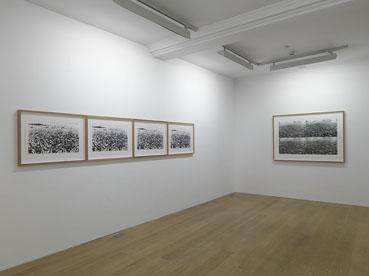 Vista de la exposición de Asier Mendizabal en Anthony Reynolds Gallery