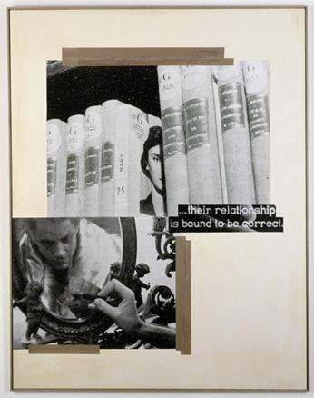 Astrid Klein, The relationship, 1980