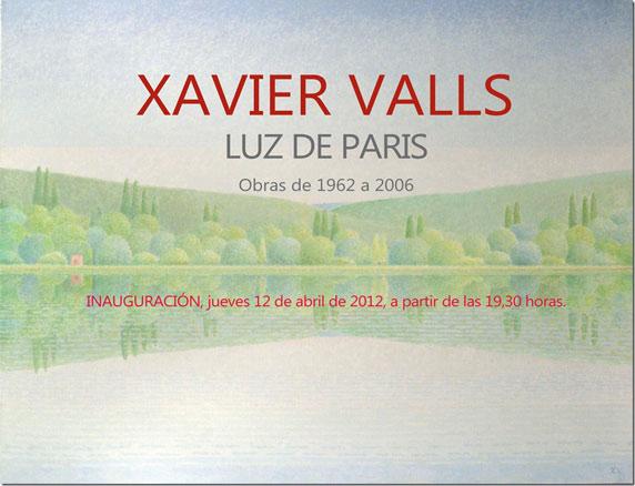 Xavier Valls, Luz de París