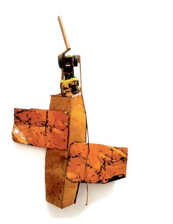 Robert Rauschenberg, Blood Orange Summer Glut, 1987