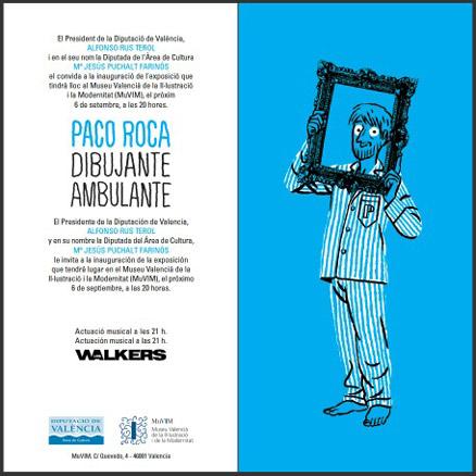 Paco Roca dibujante ambulante