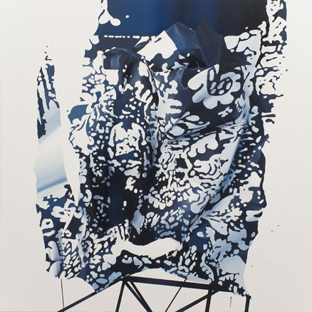 Fernando M. Romero, Plain View_001, 2012, Oil on Canvas, 120 x 120 cm