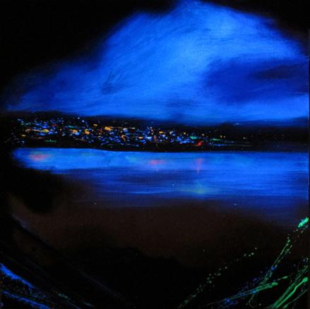 Marcos Tamargo, Noreste estadounidense con luz negra