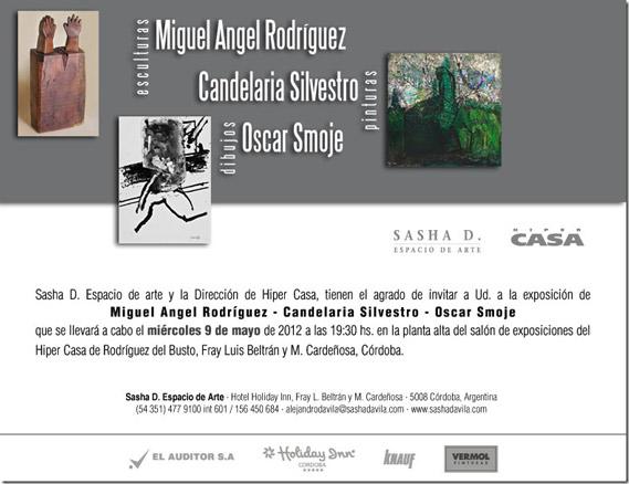 MIguel Ángel Rodríguez - Candelaria Silvestro - Óscar Smoje