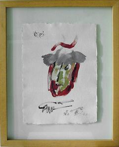 ST, 1990 Mixtapaper 44x32 cm