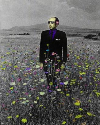 Jorge Rueda, Hombre y Flores, 1972