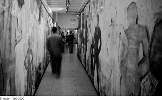 Sila Chanto, El muro, 1999-2000