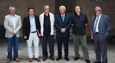 Rueda de prensa del Pabellón de Cataluña y Baleares en la Bienal de Venecia 2013
