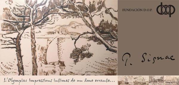 Exhibición de Paul Signac en la Sala 1, Piso 2 de Fundación D.O.P.
