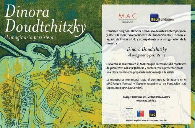 Dinora Doudtchitzky El imaginario persistente