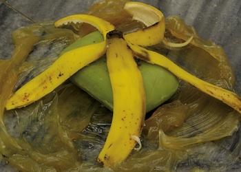 Wilfredo Prieto, Grasa, jabón y plátano, 2006