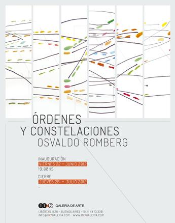 Osvaldo Romberg, Órdenes y constelaciones
