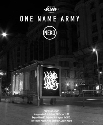 Neko, One Name Army