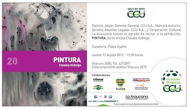 Claudia Hidalgo, Pintura