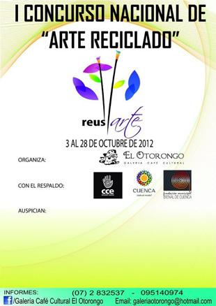 I Concurso Nacional de arte Reciclado ReusARTE