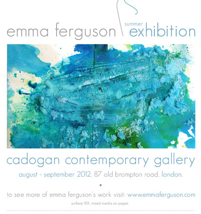 Emma Ferguson, Summer exhibition