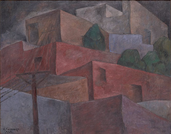 Rufino Tamayo, Pueblo, 1925