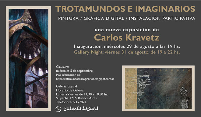 Carlos Kravetz, Trotamundos e imaginarios