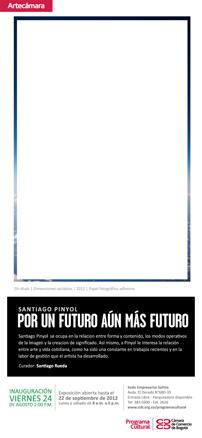 Santiago Pinyol, Por un futuro aún más futuro
