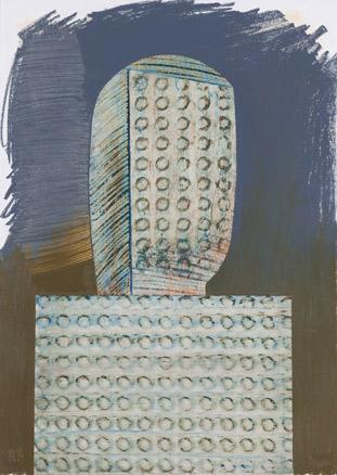 Ricardo Yrarrázaval, Grafito y pastel graso sobre papel 70X50 cm., 2012