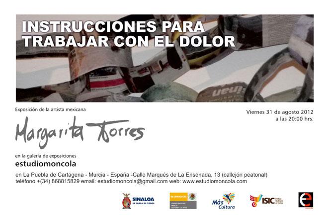 Margarita Torres, Instrucciones para trabajar con el dolor