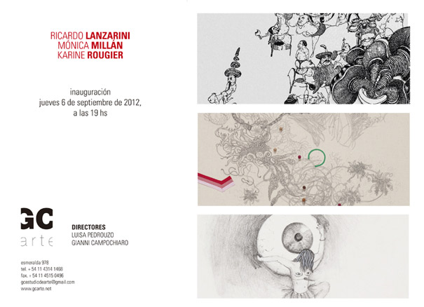 Ricardo Lanzarini - Mónica Millán - Karine Rougier