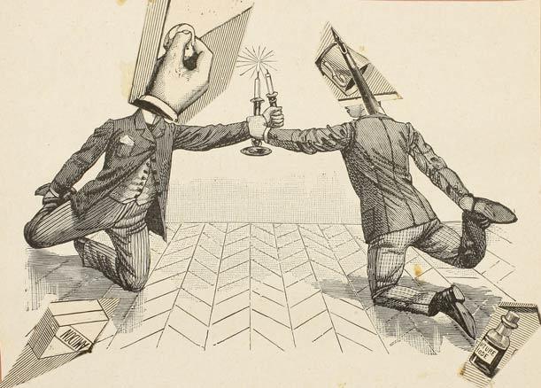 Franz Roh, Duelo de velas de los literatos, ca. 1930