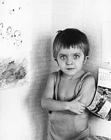 David Bennent in Strickhose, 1973