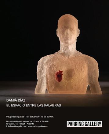 Damiá Díaz, El espacio entre las palabras