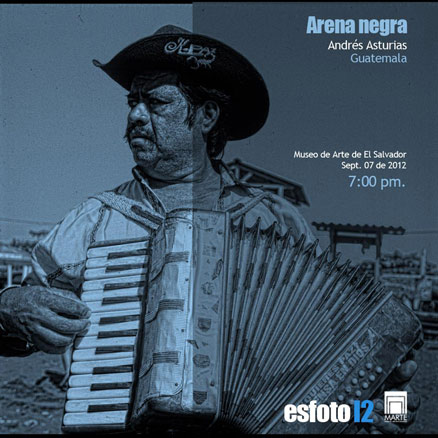 Andrés Asturias, Arena Negra