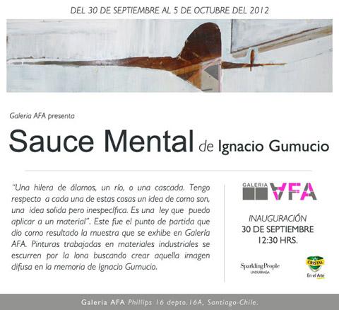 Ignacio Gumucio, Sauce Mental