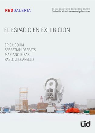 El espacio en exhibición