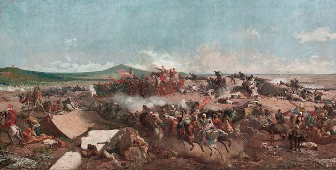 Mariano Fortuny, La batalla de Tetuán -detalle-