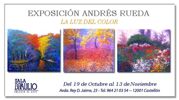 Andrés Rueda, La luz del color