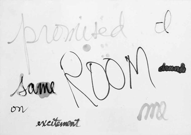 Mac Low, Drawing Hyphen Asymmetries, 1961