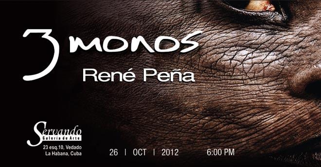 René Peña, 3 monos