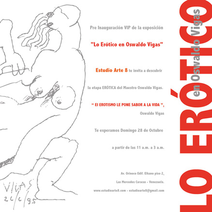 Lo erótico en Oswaldo Vigas